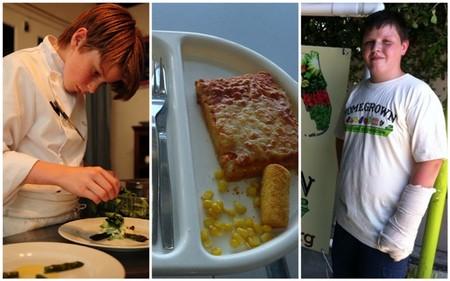 Niños blogueros que cuentan su relación con la comida