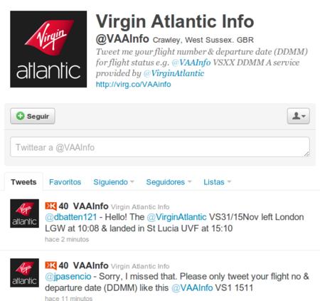 Aerolínea lanza una cuenta de Twitter donde informa sobre el estado de sus vuelos