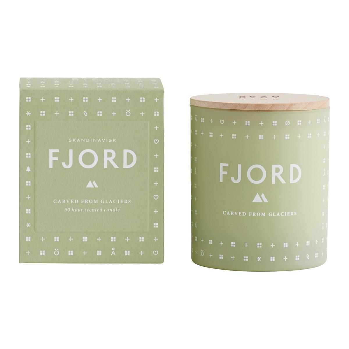 Vela perfumada en vaso Fjord Skandinavisk