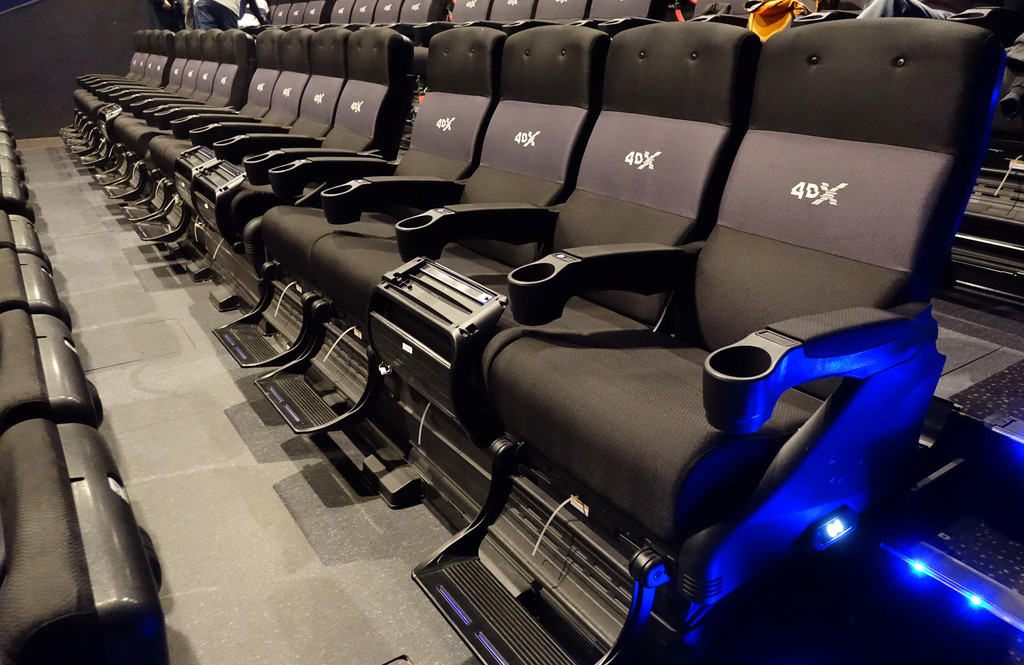 Así es el cine 4DX: esta es la pericia que nos da la sala con efectos sensoriales mas avanzada de Kinepolis