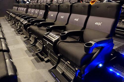 Así es el cine 4DX: esta es la experiencia que nos ofrece la sala con efectos sensoriales más avanzada de Kinepolis