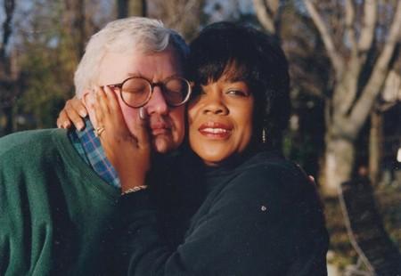 Roger y Chaz Ebert