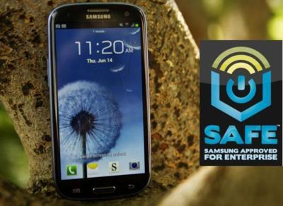 Samsung pone sus miras en el mercado empresarial con SAFE