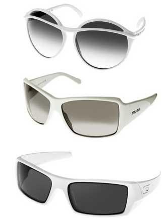 Gafas blancas