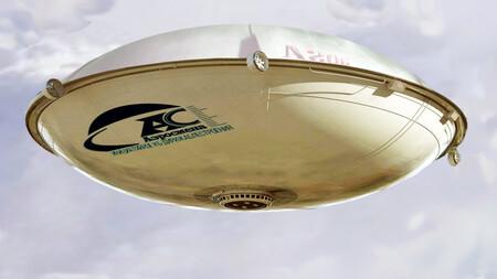 Este dirigible parece un OVNI, en realidad es ruso y promete hasta 600 toneladas de carga