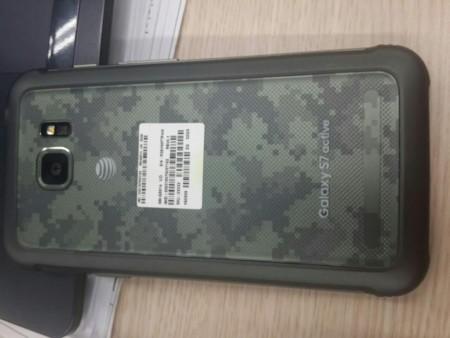 Estas son las primeras imágenes filtradas del Galaxy S7 Active