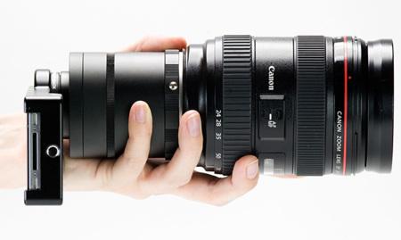Es oficial, esto se nos ha ido de las manos: la primera carcasa de iPhone con adaptador para objetivos de cámaras réflex