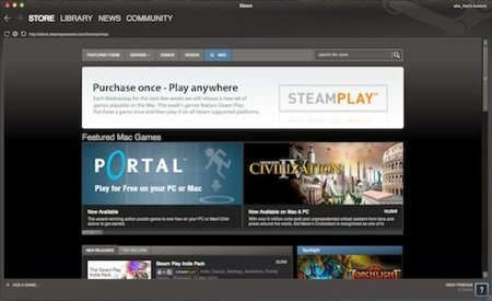 Steam para Mac ya es una realidad y en Linux está por venir