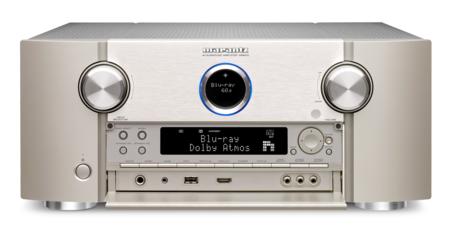 El nuevo SR8012 de Marantz tiene todo lo que le pedirías a un receptor AV, salvo el precio