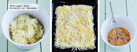 Pizza Patata Chorizo Prep