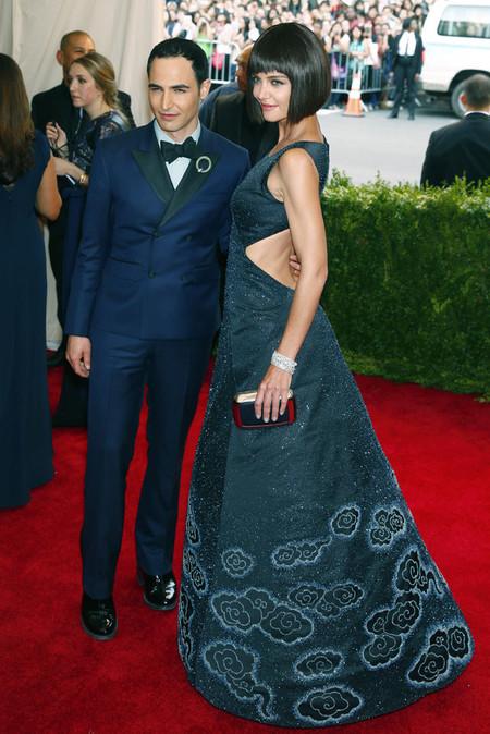 Katie Holmes Met 2015 zac posen