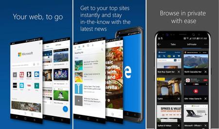Microsoft Edge para Android, ya está aquí su primera versión estable: estas son sus características