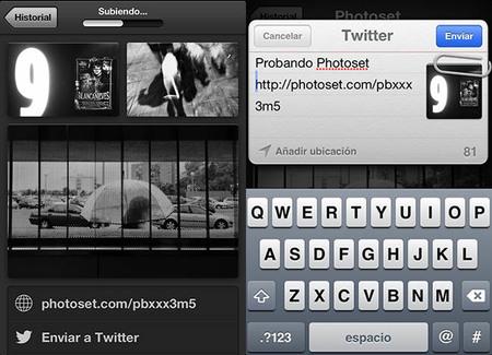 Photoset, una aplicación sencilla para compartir álbumes fotográficos