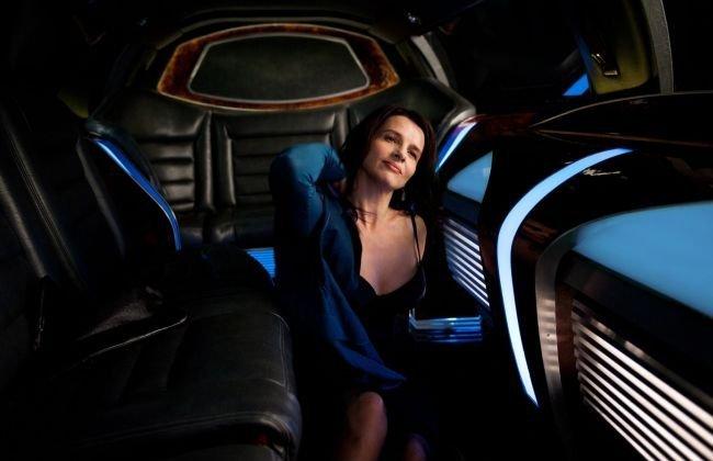 Juliette Binoche en Cosmopolis