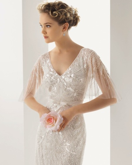 Vestidos de novia para brillar como una estrella