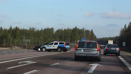 La policía sueca no se anda con tonterías