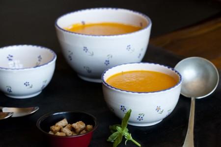 Crema De Tomates Asados Y Albahaca 4