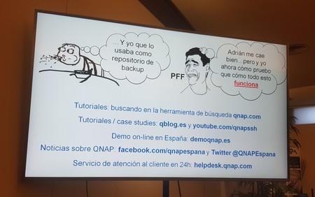 Dónde conseguir más información de soluciones QNAP