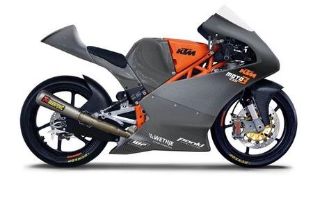 KTM Moto3 carreras cliente para la temporada 2013