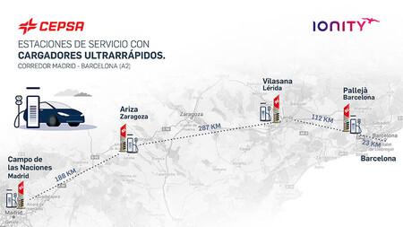 IONITY y Cepsa inauguran sus primeros puntos de carga para coches eléctricos en Portugal