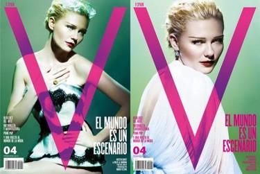Kirsten Dunst y Masha Novoselova las protagonistas del nuevo número de la revista V