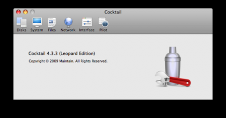 Cocktail, actualización de versión para Leopard