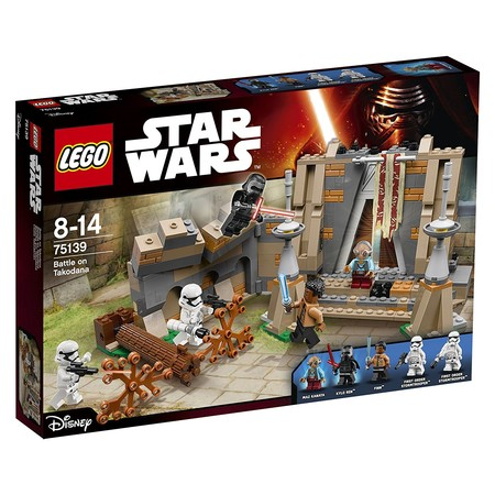 Batalla en Takodana, de Lego Star Wars, con un 37% de descuento