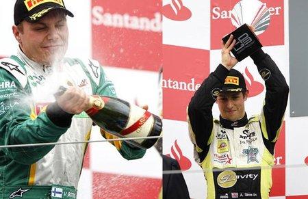 GP3 Alemania 2011: victorias de Rio Haryanto y Valtteri Bottas, Alexander Sims afianza el liderato
