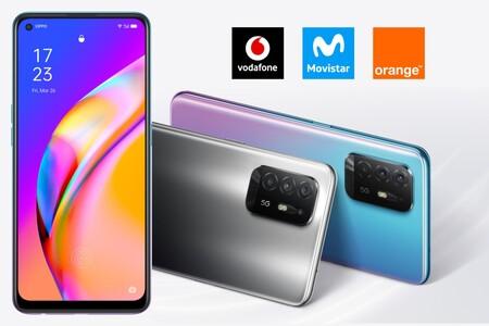 Dónde comprar el OPPO A94 5G más barato: comparativa ofertas con Movistar, Vodafone y Orange