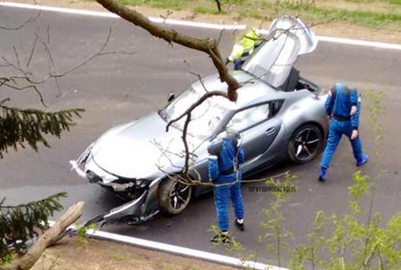 El Toyota GR Supra, nueva víctima en el Infierno Verde: el deportivo japonés sufre un accidente en Nürburgring