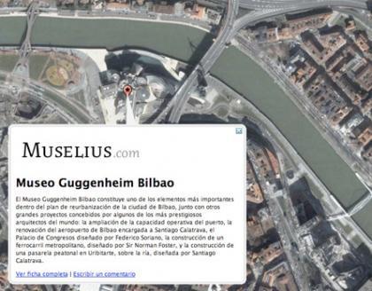 Muselius, guía de museos online