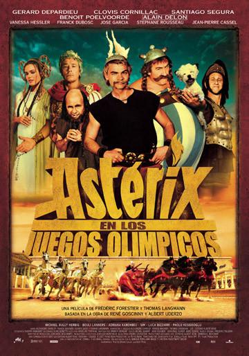 Póster de 'Asterix en los juegos olímpicos'