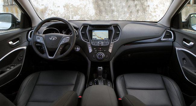 Hyundai Santa Fe, vista interior