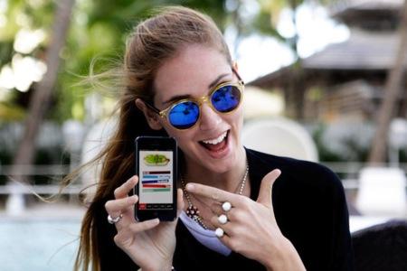 Trendencias Noticias: Chiara Ferragni ya dispone de su propia aplicación para iPhone