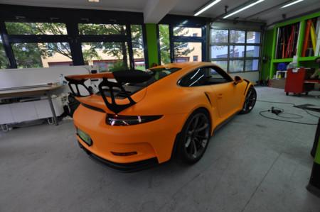 Me ponga un Porsche 911 GT3 RS... pero lo quiero de color naranja mate