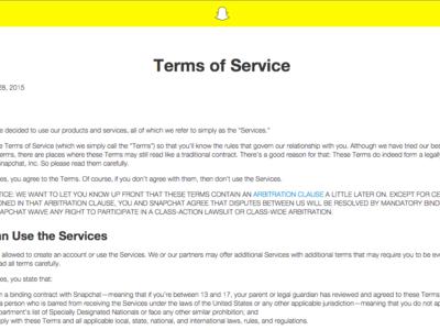 Snapchat ya puede hacer lo que le venga en gana con tu contenido (o casi). Así es su nueva política de privacidad [Actualizado]