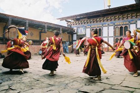 Los Tsechus, festivales tradicionales de Bután