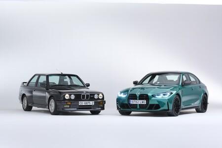 BMW M3 E30 y G80