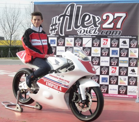 Team Honda Impala Moto3 Copa Cbr300 2016 Alex Diez
