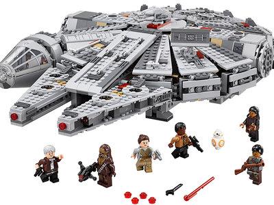Halcón Milenario Lego Star Wars por 107 euros en Amazon