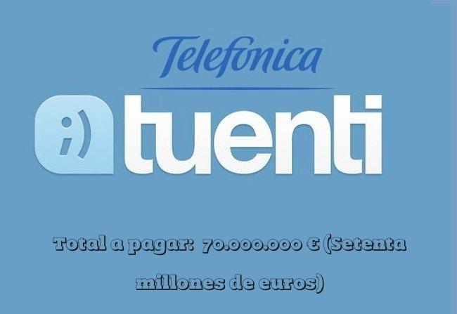 Teléfonica compra Tuenti por 70 millones