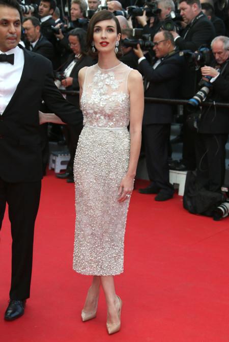 Paz Vega. La alfombra roja del Festival de Cannes (primer día)