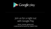 Google anuncia un evento sobre Google Play el 24 de Octubre