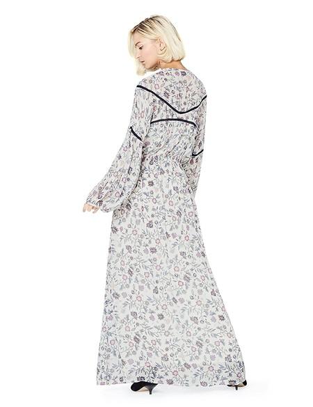 selena gomez street style vestido flores
