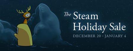 Arranca la fiesta, arrancan las rebajas navideñas de Steam