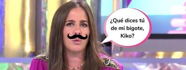 Kiko Matamoros se ríe del bigote de Anabel Pantoja y ella contraataca con este cruel comentario sobre sus operaciones estéticas