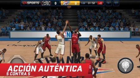 NBA Live Mobile, la saga de baloncesto de EA llega a Android con un juego de descarga gratuita