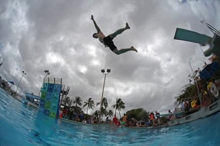 Dødsing: cuando los 'clavados de panza' deberían ser un deporte olímpico