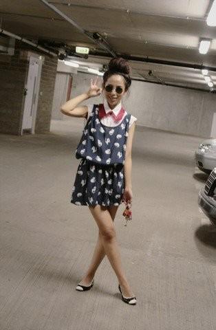 Las street stylers ya llevan el vestido clon Miu Miu de Zara, ¿a qué estamos esperando las demás?