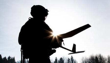 Dron Soldado Shield Ai